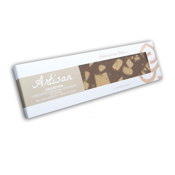 Fotos Turron De Jijona.Artisan Collection Milk Chocolate With Turron De Jijona 220g