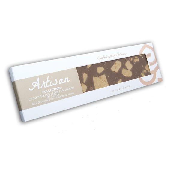 chocolate-con-leche-y-turron-de-jijona