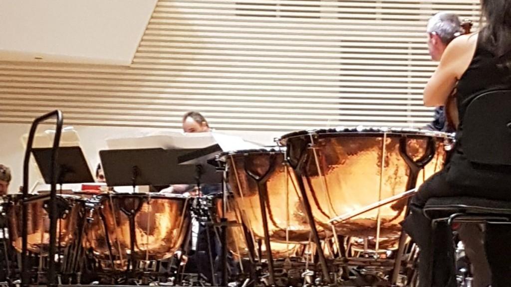 Javier Eguillor actuación ADDA Philip Glass 0