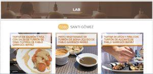 LAB: Laboratorio de recetas Pablo Garrigós Ibáñez