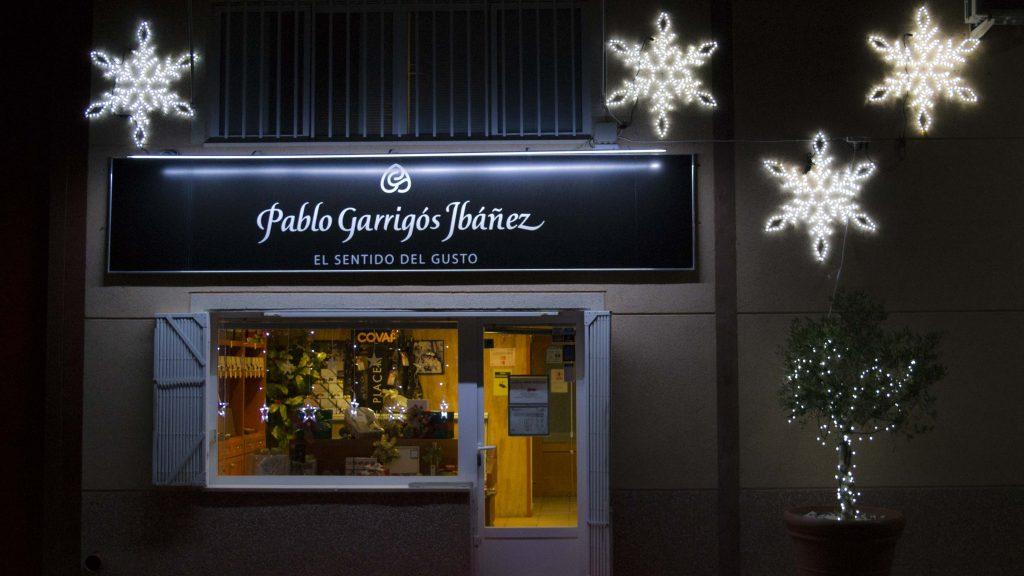 Pablo Garrigós Ibáñez tienda Jijona por fuera