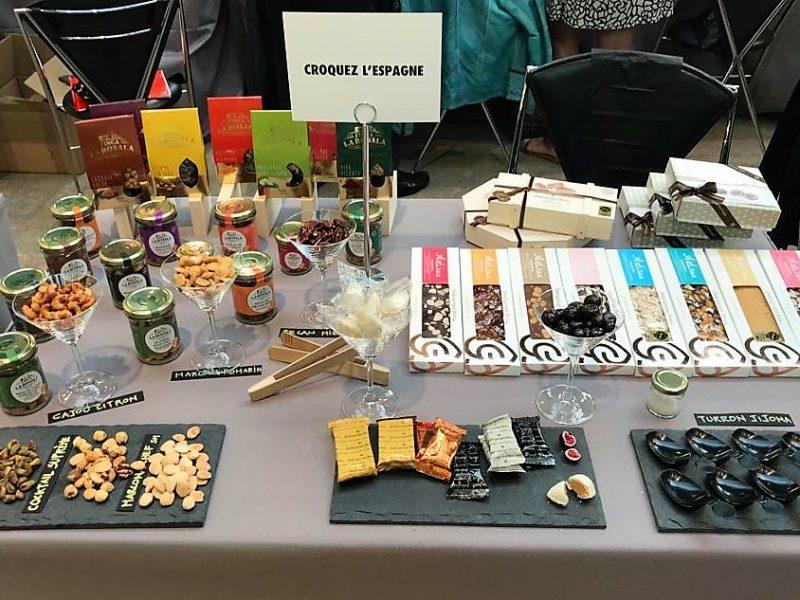Expositor de turrones dulces y chocolates Pablo Garrigós en Paris