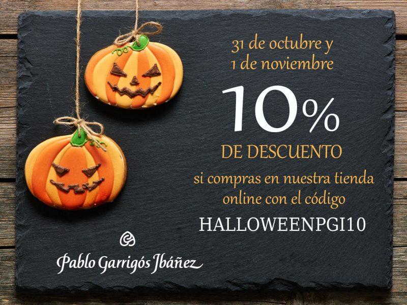 Descuento Halloween Pablo Garrigós Ibáñez