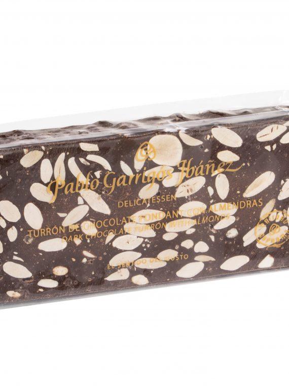 Tableta de chocolate fondant con almendras Pablo Garrigós Ibáñez